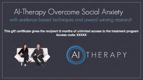 AI-Therapy gift certificate